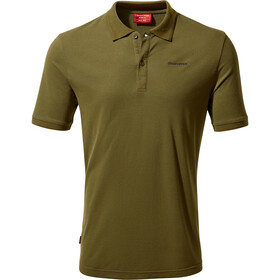 Craghoppers Nosilife Mani Polo T-Shirt À Manches Courtes Homme, dark moss